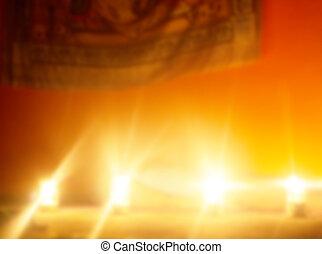 yoga, estilo, acción, sagrado, místico