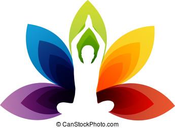 Yoga fitness - Vector - Yoga Concept