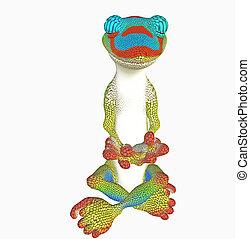 yoga gecko