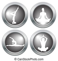 Yoga Icon Set 2