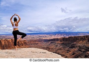 Yoga in the Canyonlands