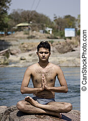 Yoga in water