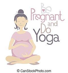yoga, incinta