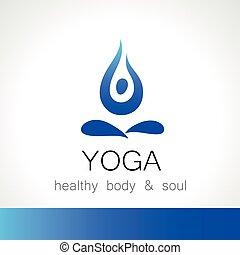yoga logo - Yoga logo - design template. Health Care,...
