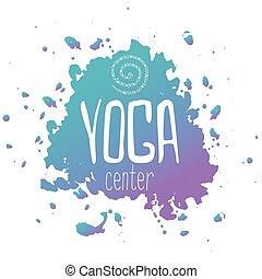 yoga logotype