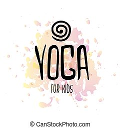 yoga, logotype