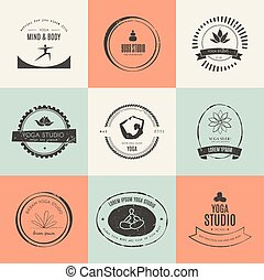 Yoga Logotypes Collection
