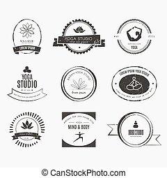 Yoga Logotypes Collection