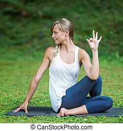 Yoga Mudra Hand Sign - Yoga mudra hand sign