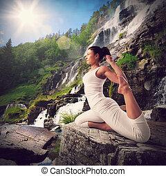 yoga, natuurlijke , landscape