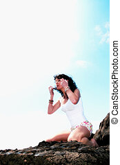 yoga on the rocks 13