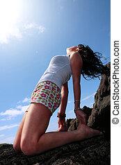 yoga on the rocks 14