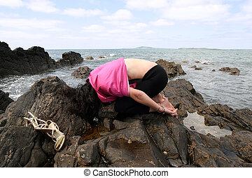 yoga on the rocks 6