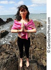 yoga on the rocks 7