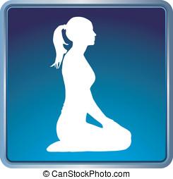 yoga pózolás