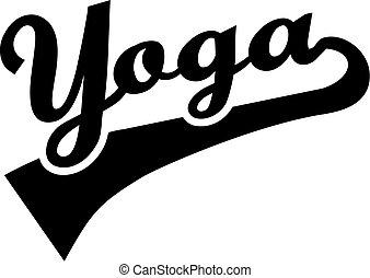 yoga, palabra