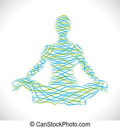 yoga posiiton