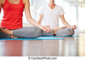 yoga, práctica