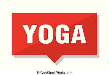 yoga red tag