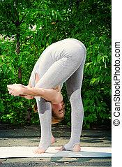yoga, samica