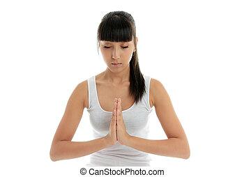 yoga, sereniteit, het helen
