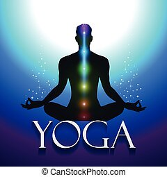 Yoga Silhouette Om