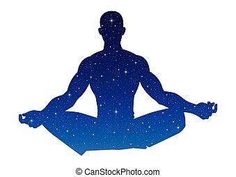 yoga, universo