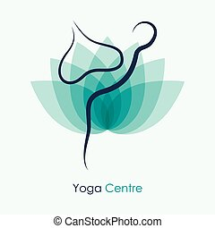 Yoga Vector Icon