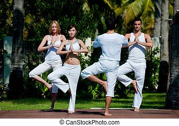 yoga vyučování