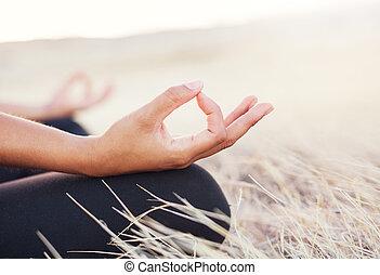 Yoga Woman Meditation