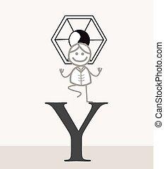 Yoga Woman Symbol