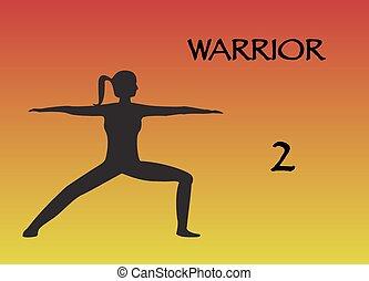 Yoga Woman Warrior 2