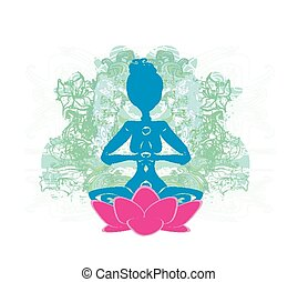 yoga, y, espiritualidad