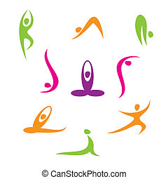 yoga - Yoga - a set of icons