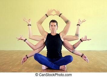 yogi, shiva, shakti