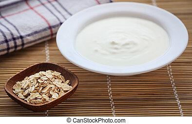 yogur, fresco