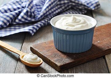 yogur, griego