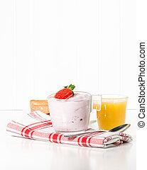 Yogurt Cup Portrait
