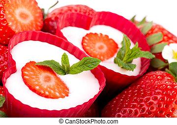 Yogurt Strawberries