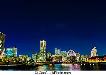 Yokohama is the third biggest city in Japan.