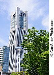 Yokohama, Japan - Yokohama Landmark Tower. Taken in spring...