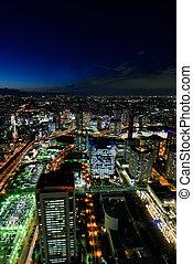 Yokohama Minato Mirai Night view - Night View of Minato...