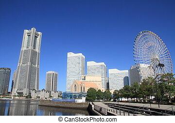 Yokohama minatomirai 21