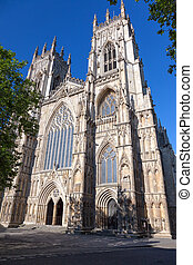 York Minster in North Yorkshire, England