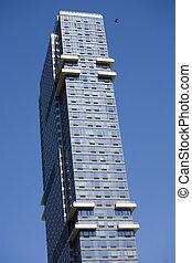 york, nuovo, manhattan, grattacieli, stati uniti