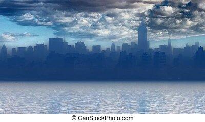 york, port, nouveau