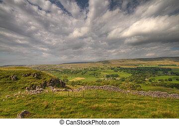 Yorkshire Dales - Yorkshire dales landscape in the summer...