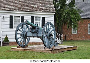 Yorktown Battlefield in Yorktown, Virginia