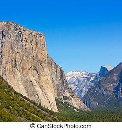 Yosemite el Capitan in California National Parks USA