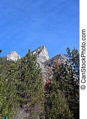 Yosemite Park Landscape